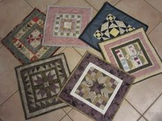 Patchwork quilting point de croix