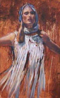 """Dark but Lovely.""  The Shulamite Woman Copyright 2013 by Hyatt Moore"