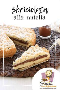 Sbriciolata alla Nutella su http://www.ricettedellanonna.net/