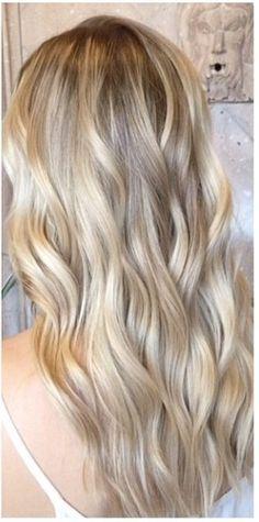 baby blonde highlights
