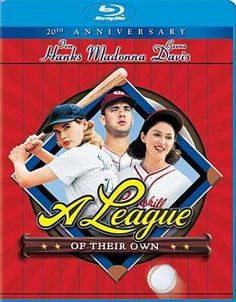 A League of Their Own, starring Tom Hanks, Geena Davis, Madonna Named one of the Top 5 Best Baseball Movies See Movie, Movie List, Movie Tv, Old Movies, Great Movies, Awesome Movies, Popular Movies, Movies Showing, Movies And Tv Shows