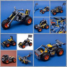 LEGO MOC 42119 9IN1 by Keep On Bricking | Rebrickable - Build with LEGO Brick Saw, Lego Technic Sets, Lego Group, Lego Parts, Group Of Companies, Lego Moc, Legos, Monster Trucks, Cars
