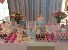 decoração de Festas Infantis personalizadas | Festa Bailarina | Wix.com