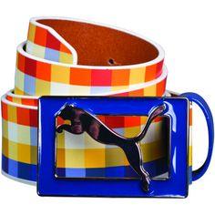 Colourful Puma Belt #pumagolf #apparel. I want this!!!