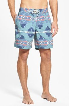 Faherty+Recycled+Fabric+Print+Board+Shorts+available+at+#Nordstrom