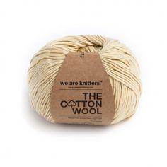 100% Cotton Wool - vegan, needle 5 - bawełna organiczna Złoty Brąz