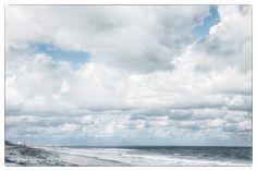 Fine Art Photography Florida Beach Clouds Ocean by PhotosIntent, $30.00