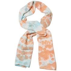 Blue Sky Sustainable Bamboo Tie Dye Scarf (£25) ❤ liked on Polyvore featuring accessories, scarves, blue scarves, bamboo scarves, blue shawl, tie dye shawl and tie-dye scarves