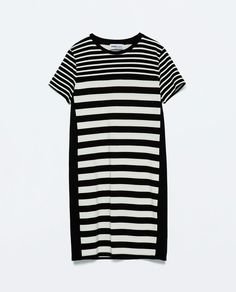 Image 7 of COMBINED STRIPED DRESS from Zara