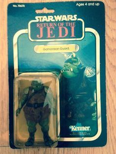 Star Wars Return Of The Jedi Gamorrean Guard Figure CARDED 1983