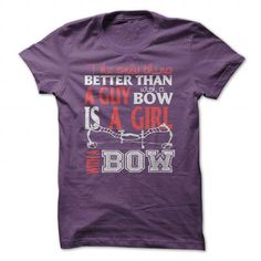 Is A Girl with a BOW T-Shirts, Hoodies (19$ ==►► Shopping Here!)