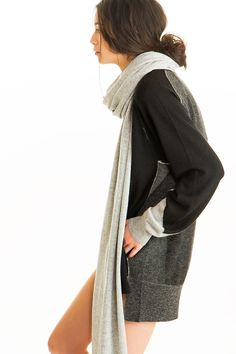High-low Tunic, 100% Fine Worsted Mongolian Cashmere | Paychi Guh
