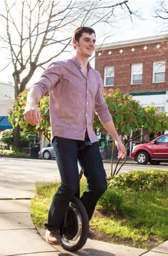 Commute By Unicycle: Realistic or Ridiculous?