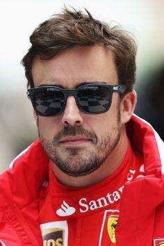 Fernando Alonso Fernando Alonso of Spain and Ferrari attends the . Sport F1, F1 Drivers, Alonso, Formula One, First World, Ferrari, Eye Candy, Champion, Mens Sunglasses