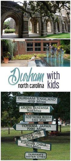 6 Kid-Friendly Spots in Durham, North Carolina. Travel in North America.