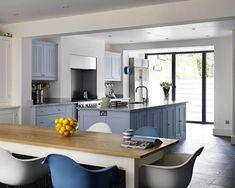Tonal Eames Chairs in Plain English's London Villa Kitchen