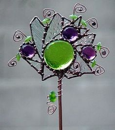 Crystal Jewels - by Dianne McGhee from Glass Art Cold Art Gallery
