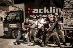 #revolversantos con la empresa Backline.co