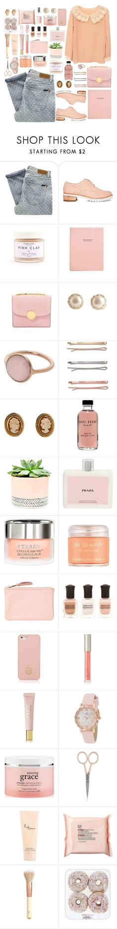 """Cosmic Love"" by annaclaraalvez ❤ liked on Polyvore featuring Paul by Paul Smith, ASOS, Marc Jacobs, YooLa, Marjana von Berlepsch, Madewell, Bobbi Brown Cosmetics, Hostess, Prada and By Terry"