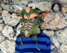 Dragon Mask PDF Pattern