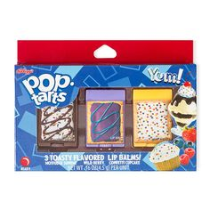 Pop-Tarts Flavored Lip Balms Set of 3 | Claire's