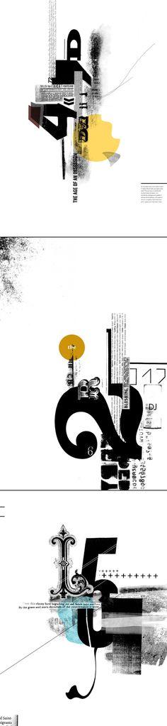 →Amanda Mocci→Typographic Posters  Typography, Graphic Design