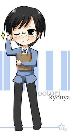 Ootori Kyouya-Ouran High School Host Club(OHSHC)