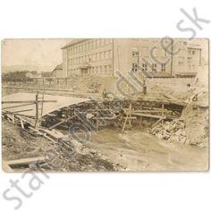 Poprad, stavba mostu