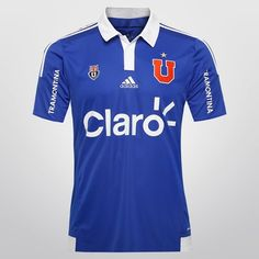 Camisa Adidas Universidad de Chile Home 14/15 s/n° - Azul