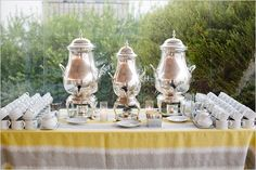 Coffee Bar At The Reception