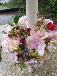 Floral Arrangements, Floral Wreath, Wedding Ideas, Wreaths, Table Decorations, Flowers, Home Decor, Limelight Hydrangea, Decoration Home