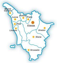 Comuni e città - Regione Toscana