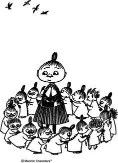 Finland Little My Moomin, Moomin Tattoo, Moomin Wallpaper, Moomin Valley, Tove Jansson, Lovely Creatures, Kawaii, Cartoon Shows, Children's Book Illustration