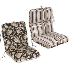 Replacement Patio Chair Cushion Fallenton Coal Armona Jet From Sam S Club These Get A 5 Star Rating Customers