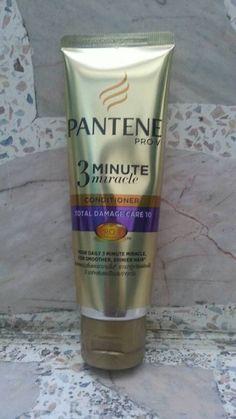 Pantene 3 minute Miracle Hair Total Damage Care 10 Conditioner 70 ml. #PANTENE