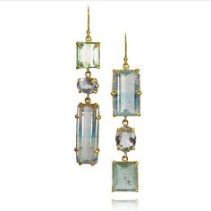 """273 Beğenme, 2 Yorum - Instagram'da MARGERY HIRSCHEY Fine Jewelry (@margeryhirschey): """"Bi colored topaz and aquamarine set in22k gold. Never find these stones again... definitely one of…"""""""