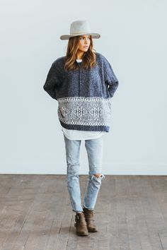 winter outfits vrouw 20 Pullover-Styles, die Sie f - winteroutfits Fall Winter Outfits, Autumn Winter Fashion, Mode Outfits, Casual Outfits, Mode Style, Style Me, Look Fashion, Womens Fashion, Fashion Trends