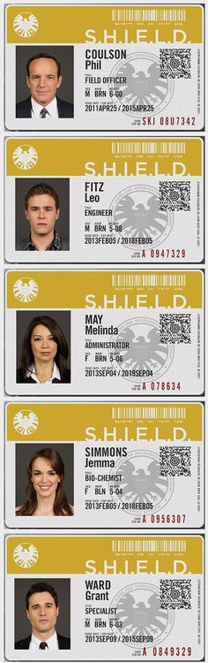 AGENTS OF S.H.I.E.L.D. Agent Son-of-Coul is six feet tall? No wonder he always interacts with Pepper instead of Tony.
