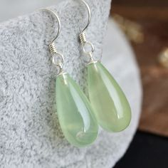 925 Pure Silver - The Mosaic Of Natural Grape Stone Earrings