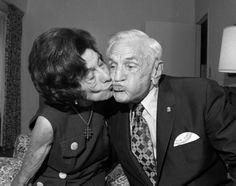 Casey and Edna Stengel, 1971
