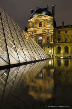 Louvre by night 01 | Flickr - Photo Sharing!