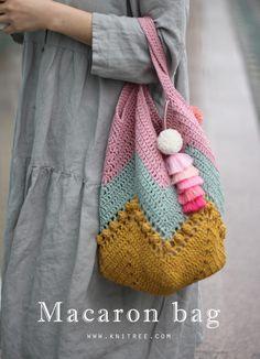 마카롱백 패키지(by 나무)....손뜨개/뜨개질/코바늘/가방/패키지 : 네이버 블로그