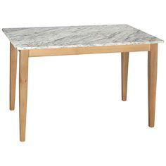 BuyHND Katrina Rectangular Dining Table, Carrara Online at johnlewis.com