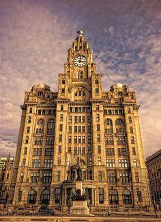 The Royal Liver Building - Liverpool, England