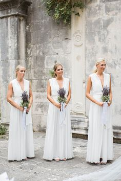 """Alexandra and Nicholas' Croatian wedding is the very definition of a breath of fresh air. The stunning couple said """"I do"""" in an intimate outdoor ceremony w"""