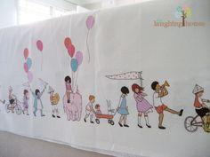 Children On Parade (Panel Print), last 2 yards! Grab it while stock lasts ^^ https://www.etsy.com/listing/110319151/michael-miller-fabric-sarah-jane
