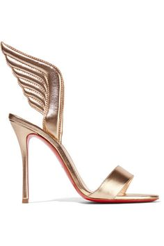 christian louboutin copy shoes - CHRISTIAN LOUBOUTIN Alarc Spiked Strappy Mesh Sandals ...