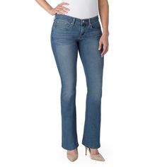 4c167ef29b905 Women s Totally Slimming At Waist Bootcut Jeans - Walmart.com