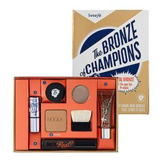 kit benefit the bronze of champions - maquiagem benefit