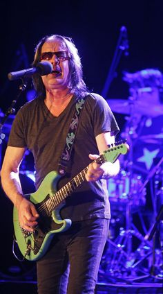 Judging Todd Rundgren 's performance Thursday at Stroudsburg's Sherman Theater depends on what you're looking for in a concert from a career music artist. Todd Rundgren, Ringo Starr, Record Producer, Music Artists, Effort, Thursday, Theater, Career, Songs